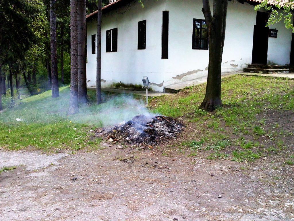 brestovačka banja u dimu
