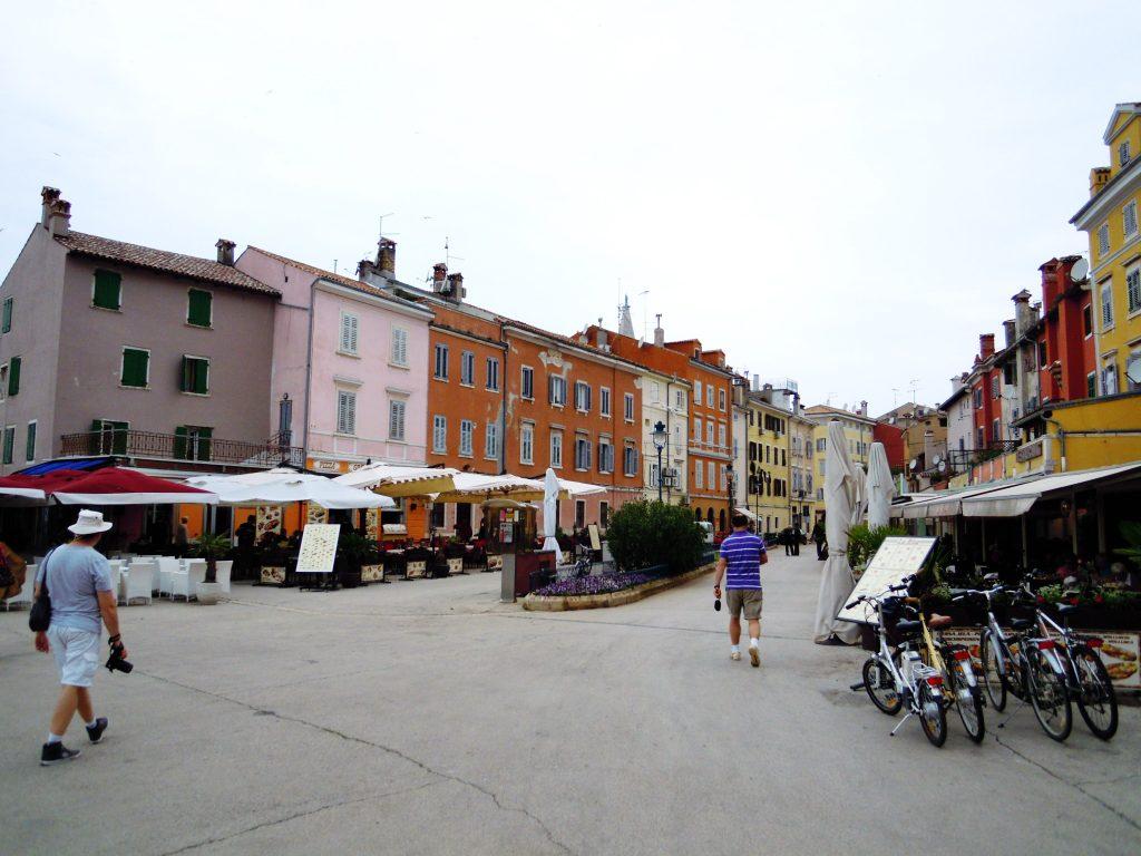Rovinj, ulaz u stari deo grada