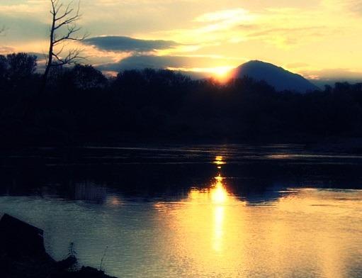 Zapadna Morava zalazak Sunca Autor: Jovana Erić
