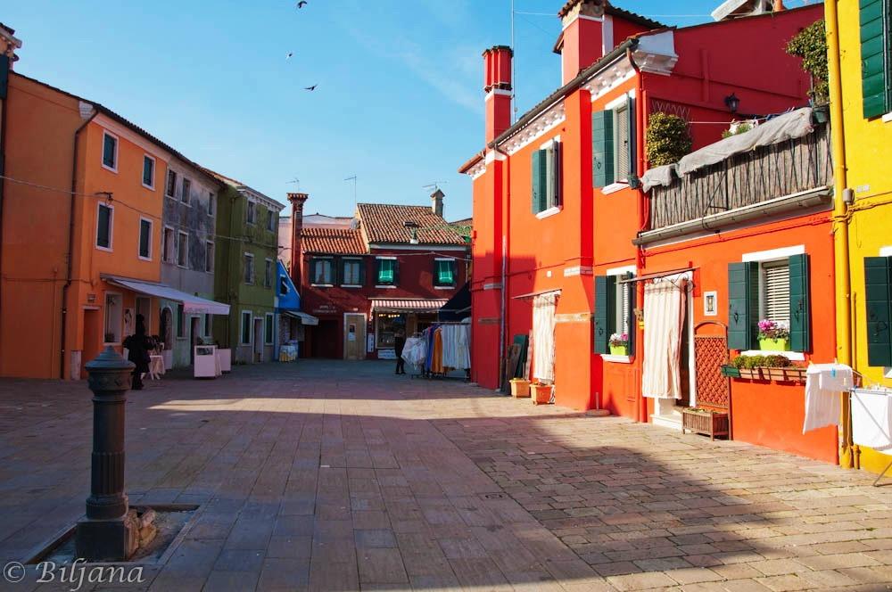 burano, venecija