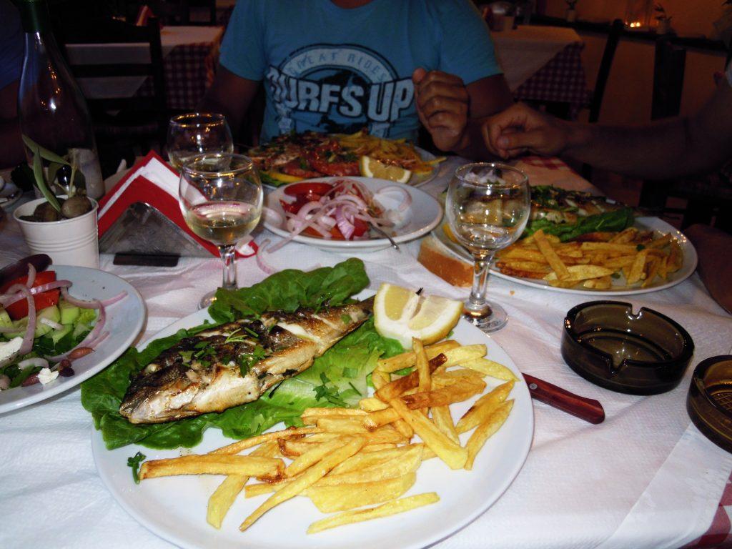 Restoran u Pelekasu, Krf