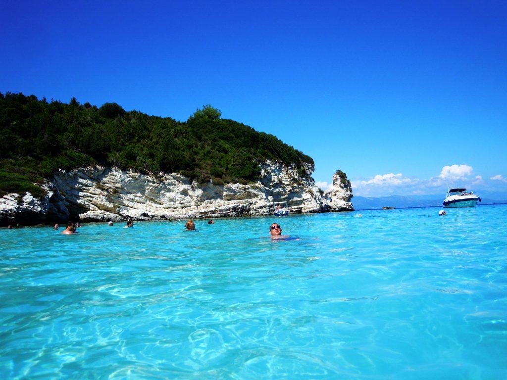 Plaža na Antipaxosu