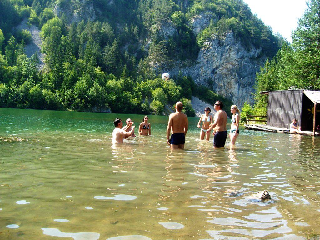 spajica jezero tara