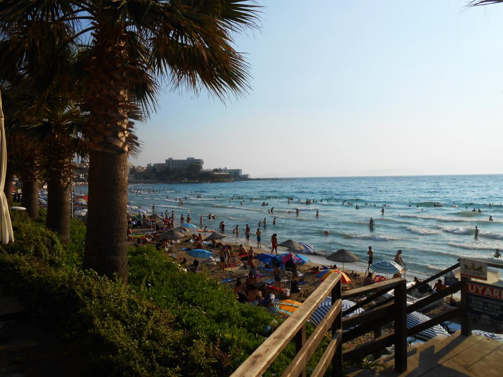 Kušadasi plaze, slike, hoteli, cene, iskustva, izleti