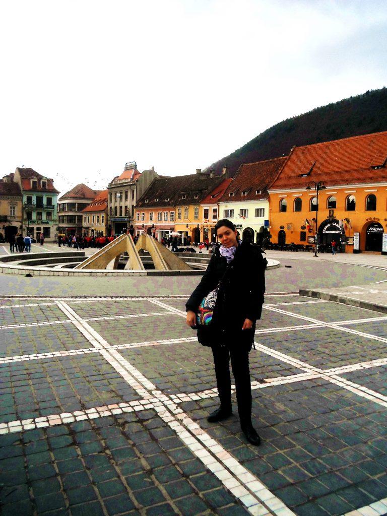 Glavni trg u Brašovu, rumunija putovanja