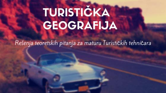 turistička geografija matura