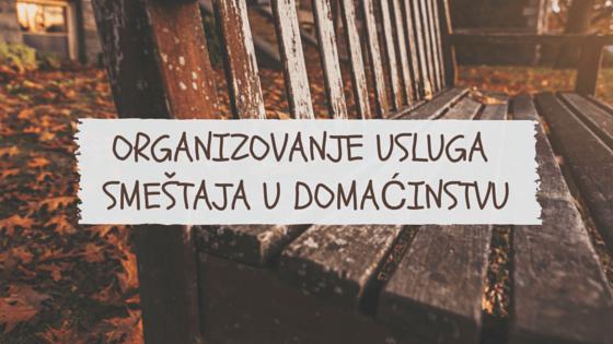 Organizovanjeuslugasmeštaja u domaćinstvu