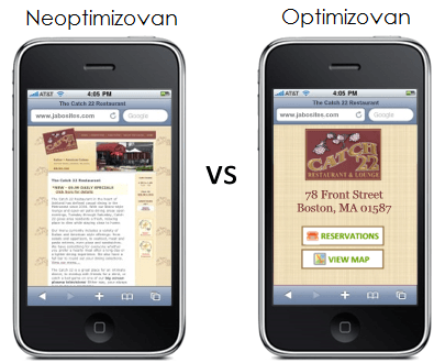 neoptimizovan vs optimizovan sajt 4