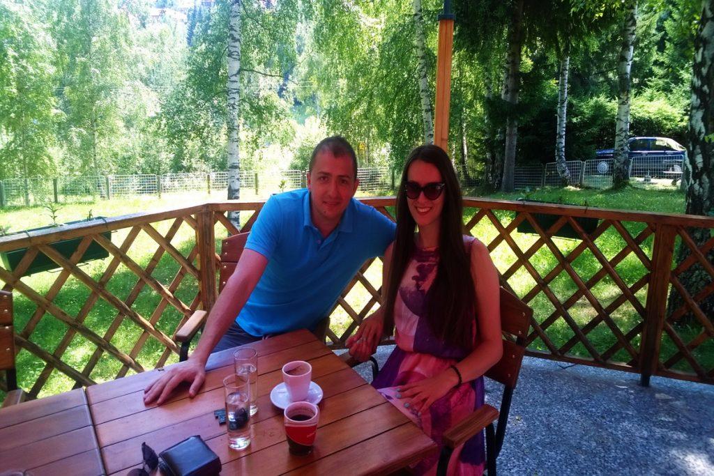 kafa na vlasinskom jezeru