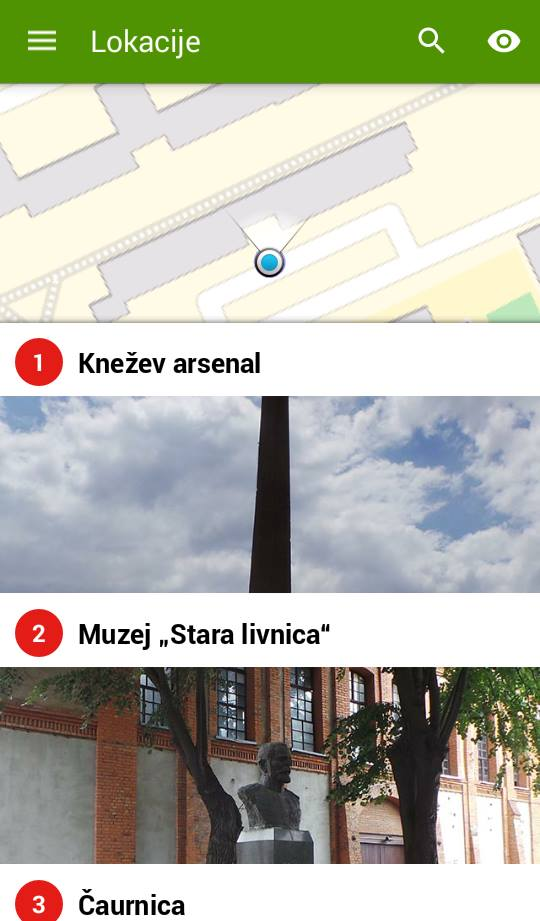aplikacija kragujevac priča
