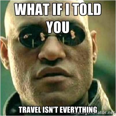 nije sve u putovanjima