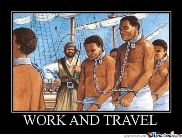 work and travel - putovanja i posao