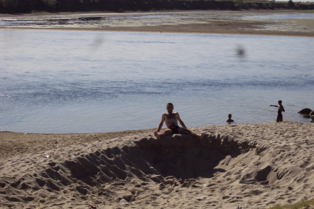 Kupanje na reci Olt