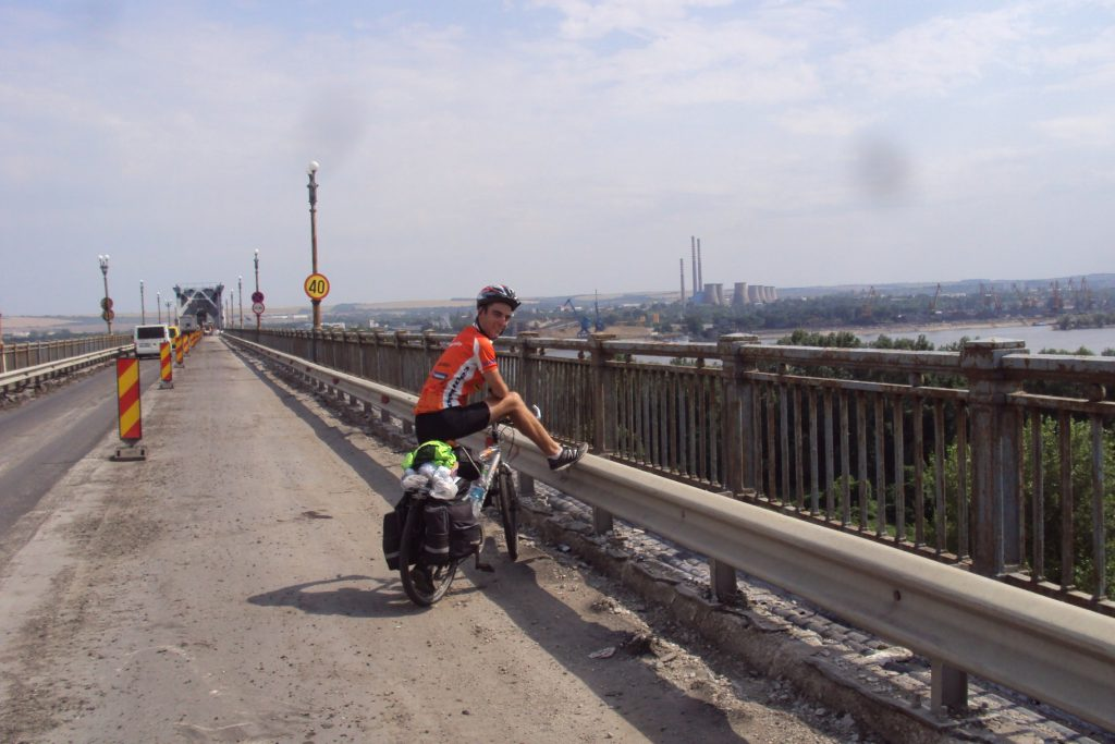 Ulazak u Bugarsku preko mosta Đurđu - Ruse