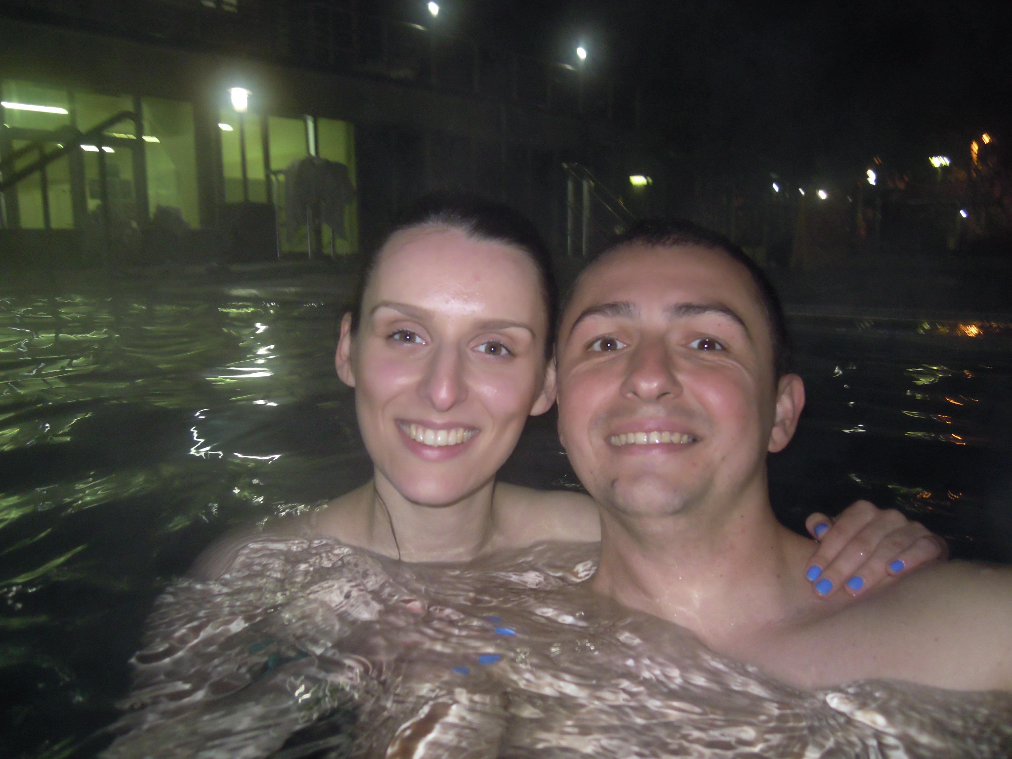Noćno kupanje u Lukovskoj Banji