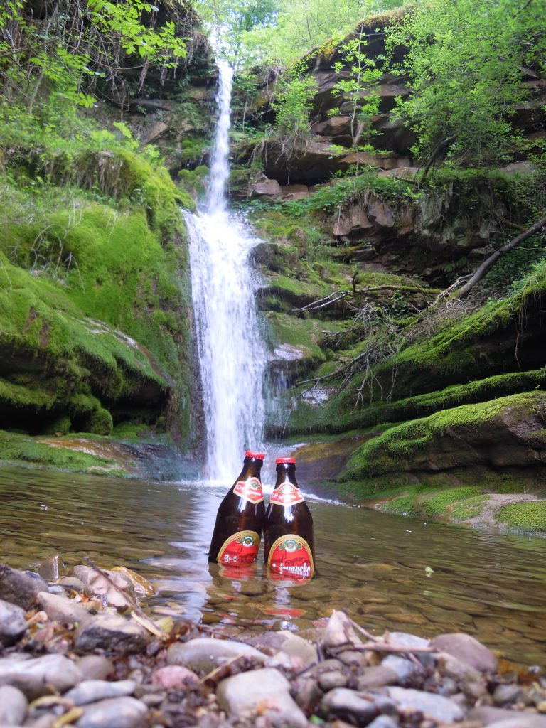 vodopad kod sela temska