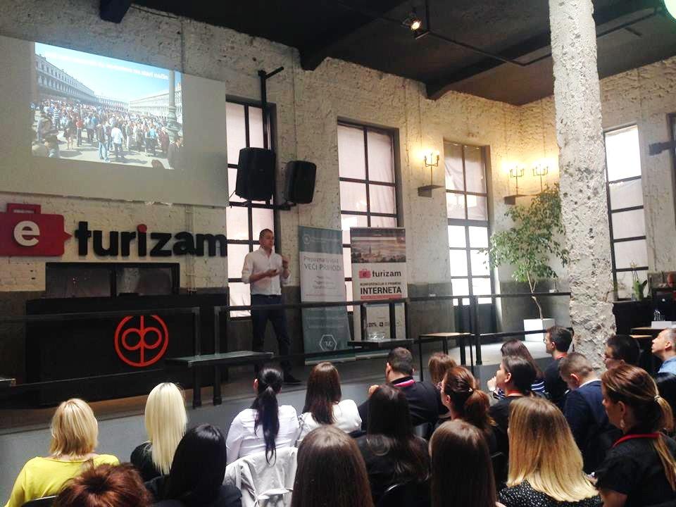 Milan Stojkovic, e-turizam konferencija