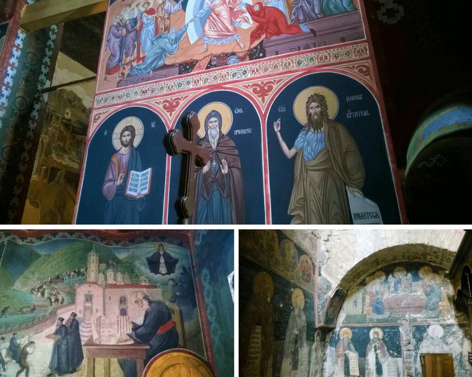freske prohor pcinjski manastir