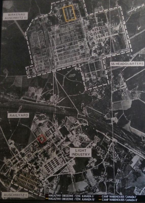 Aušvic - aero snimak