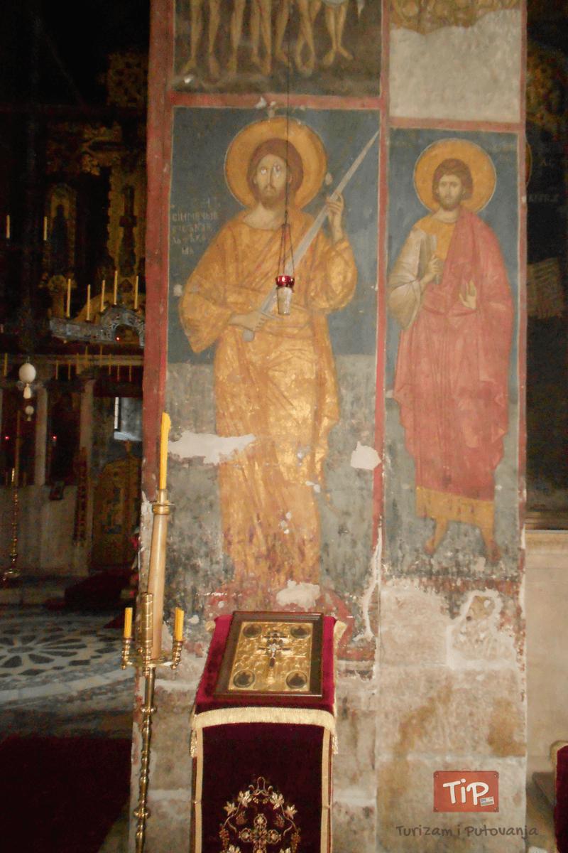 Dečani - freska Isusa