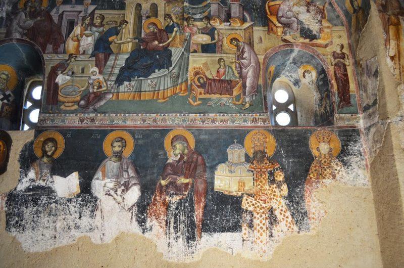 Studenica - freske