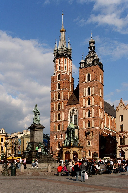 Krakov - bazilika sv.marije