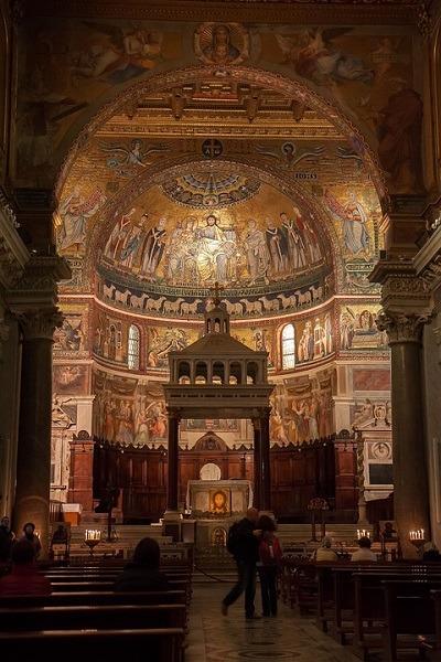 Santa Maria, Trastevere, vodič kroz rim