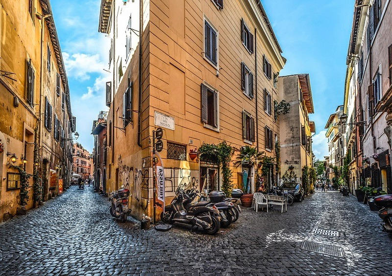 Trastevere Rim, vodič kroz Rim