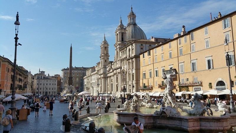 Piazza Navona, vodič kroz Rim