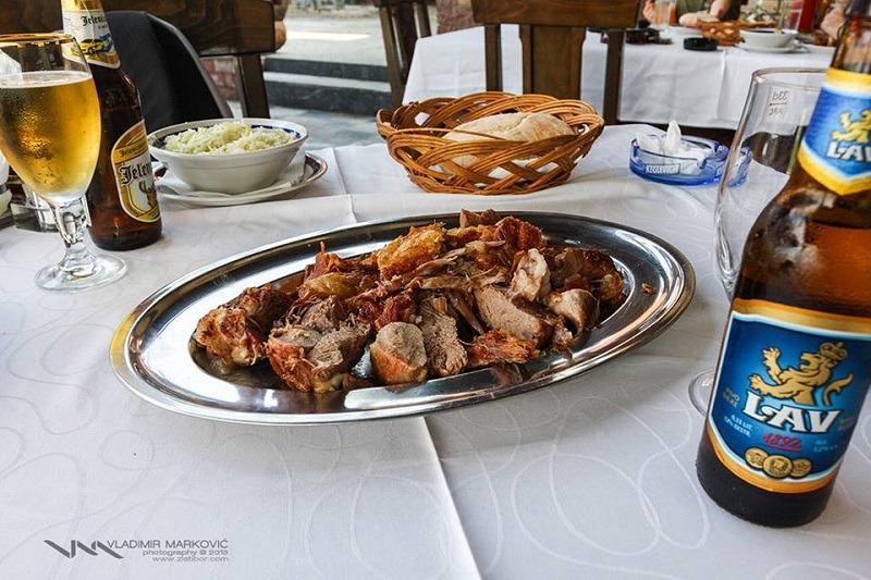 zlatiborski specijaliteti - jagnječe pečenje