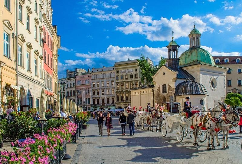 Krakov, stari grad