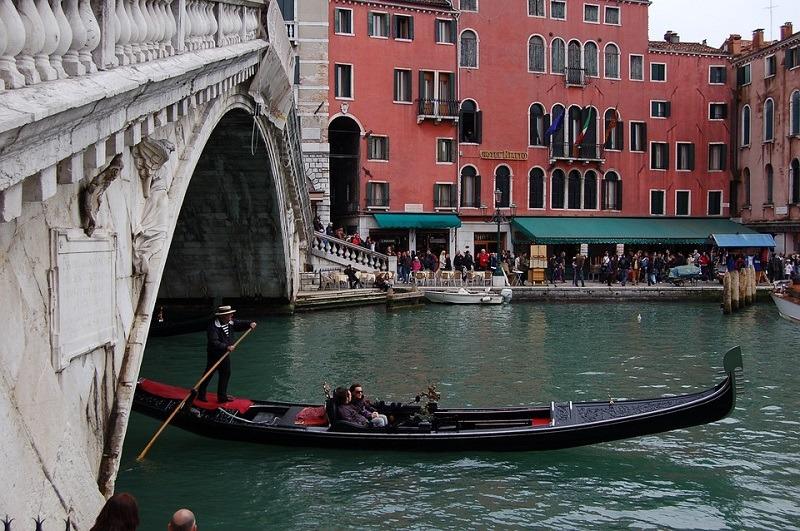 Venecija, gondola