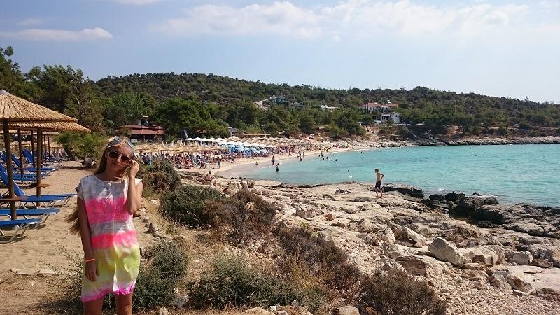 Tasos, Astris plaža