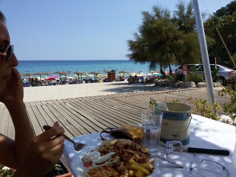 Tasos, Paradise plaža