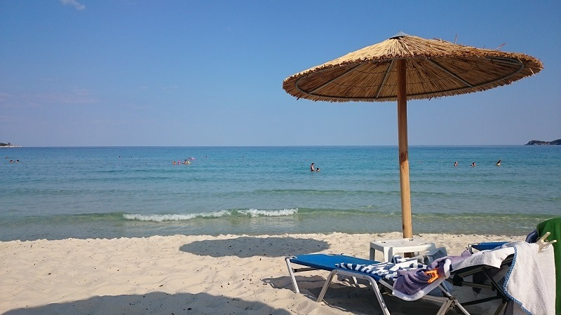 Tasos, Golden beach