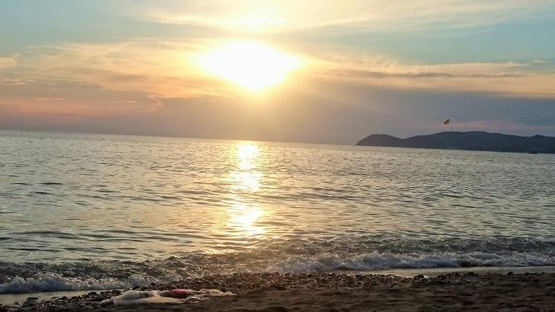Zalazak sunca na Tasosu