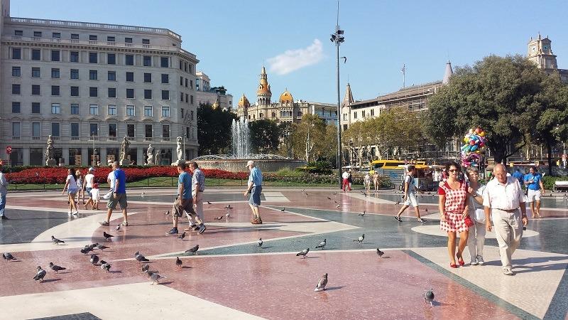 Barselona, centar, trg