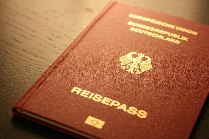 pasoš nemačka