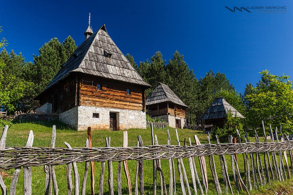 Staro selo, zlatibor, brvnara