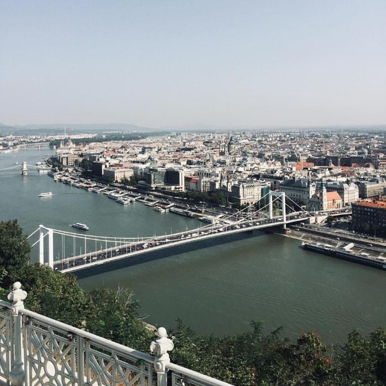 Budimpesta - citadela na brdu Gelert