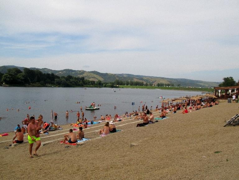 srebrno jezero plaza