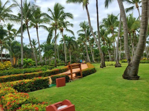 Dvoriste hotela Punta Cana