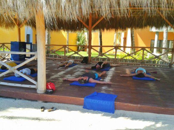 Kutak za jogu hotel Iberostar