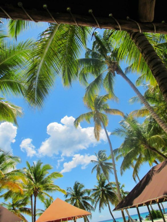 Saona Island plaza
