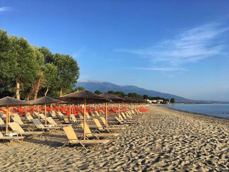 plaža leptokarija