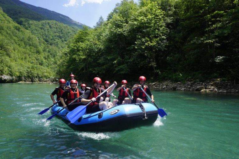 rafting na reci tara