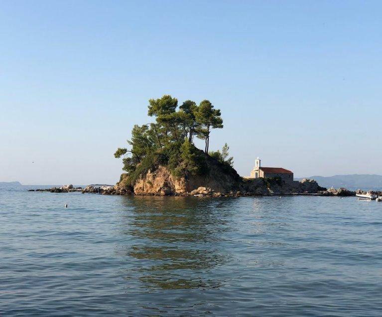 Elinika plaža Sveti Nikola Evia
